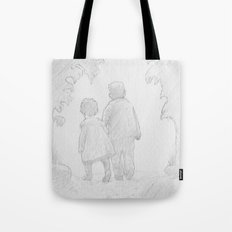 A Walk in Paradise  Tote Bag