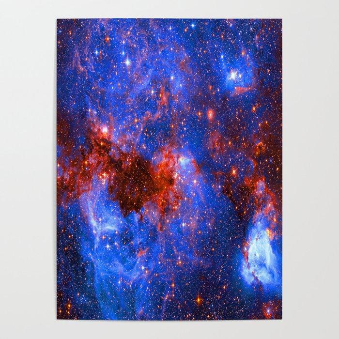 Large Magellanic Cloud Storm Poster