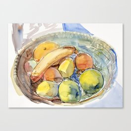 Market Harvest Canvas Print