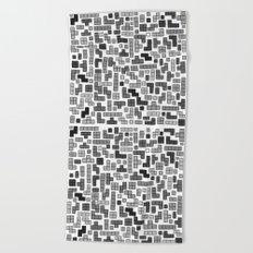letter k - gaming blocks Beach Towel