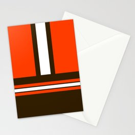 Orange and Brown Stationery Cards