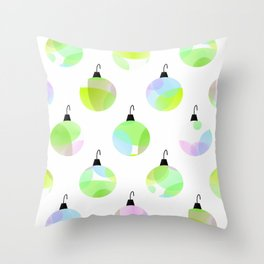 Dress Up The Tree Throw Pillow