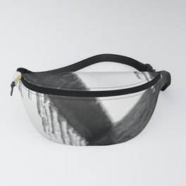 Icicles on Wood Fanny Pack