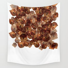Ball of bears Wall Tapestry
