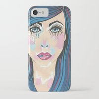 indigo iPhone & iPod Cases featuring Indigo by Sartoris ART