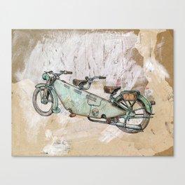 Cyclotandem Canvas Print