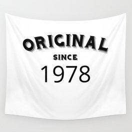 ORIGINAL | 1978 Birthday Shirt Wall Tapestry