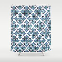 Tiles - cool Shower Curtain