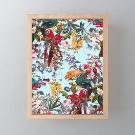 Floral and Birds XXXIV Framed Mini Art Print