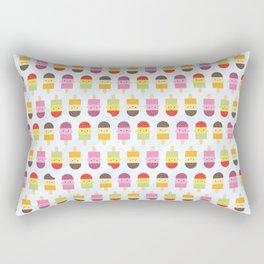 Kawaii Summer Ice Lollies / Popsicles Rectangular Pillow