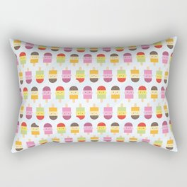 Kawaii Summer Ice Lollies / Popsicles Rectangular Pillow