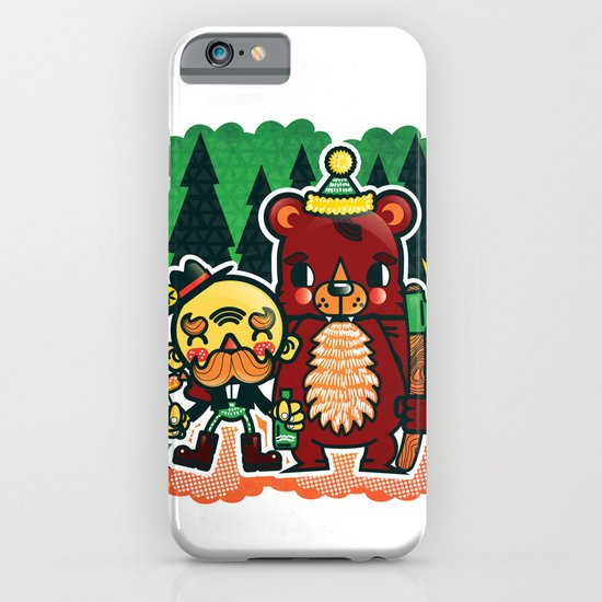 Lumberjack and Friend iPhone & iPod Case