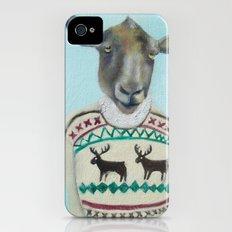 Sheep Wearing Deer Sweater  iPhone (4, 4s) Slim Case