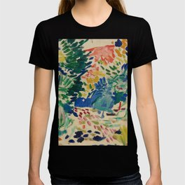 Landscape at Collioure - Henri Matisse - Exhibition Poster T-shirt