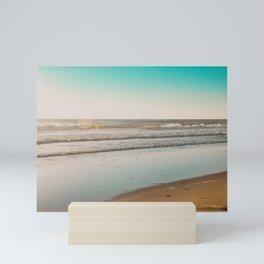 Golden Beach Days Mini Art Print