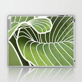 Hosta Detail Laptop & iPad Skin