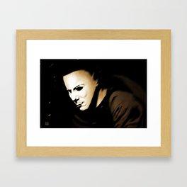 The Shape Framed Art Print