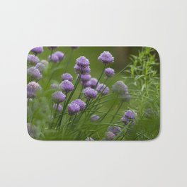 Herb Garden Chives Tarragon Parsley Bath Mat