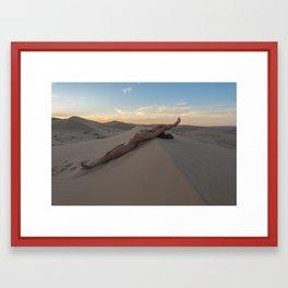 A Desert Repose Framed Art Print