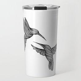 HUMMINGBIRDS IN LOVE Travel Mug