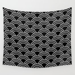 Art Deco Scallop | Billy & Pat Wall Tapestry