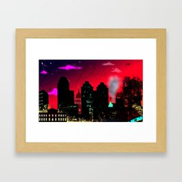 """Mercury Retrograde"" Framed Art Print"