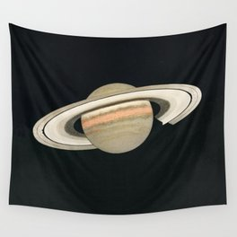 the planet Saturn Wall Tapestry