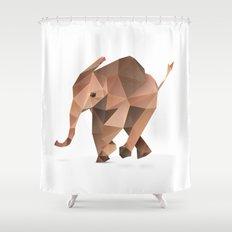 Elephant. Shower Curtain
