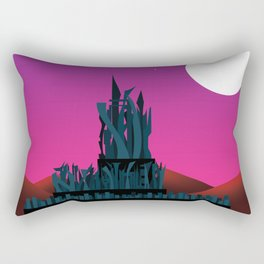 Planet Exploration: Mezora Rectangular Pillow