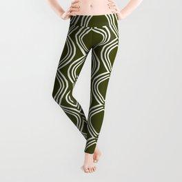 Hatchees (Olive Green) Leggings