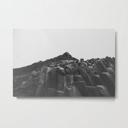 Reynisdrangar Rocks Metal Print
