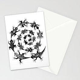 Spiraling Lizards Stationery Cards