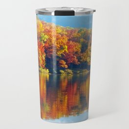 Autumn Colors at Lake Killarney Travel Mug
