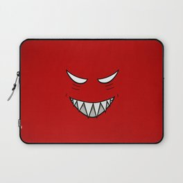 Evil Grin Evil Eyes Laptop Sleeve