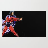 magneto Area & Throw Rugs featuring Magneto by Joynisha Sumpter