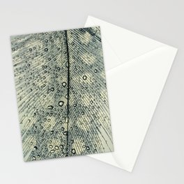 feather blue Stationery Cards
