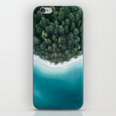 Green and Blue Symmetry - Landscape Photography iPhone Skin