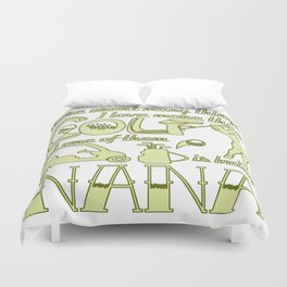 Golf Nana Duvet Cover