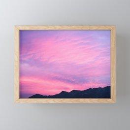 Pink Hues Framed Mini Art Print