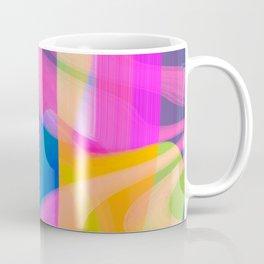 Digital Abstract #4 Coffee Mug