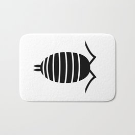 Bugs: abstract Isopod Bath Mat