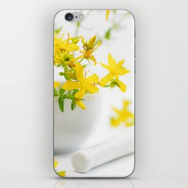 St. John's wort the strong helper from nature iPhone Skin