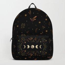 Moonlight Garden - Winter Brown Backpack