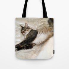 Cat Dreaming Tote Bag