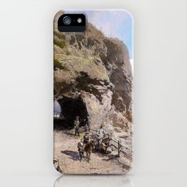 Voringfoss - Hermann Ottomar Herzog iPhone Case