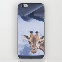 Yeah yeah, for sure there is a funny giraffe...  #decor #society6 #buyart iPhone Skin