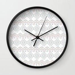 Jewels pattern no2 Wall Clock