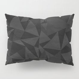 Dirty Dark Geo Pillow Sham