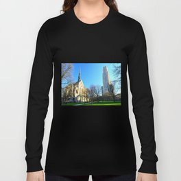 Heinz Chapel and Cathedral of Learning in Pittsburgh 12 Long Sleeve T-shirt