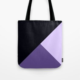 Trinity Color Block Ultra Violet Tote Bag